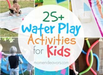 25+ Fun Water Play Activities For Kids 2