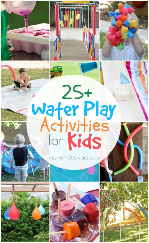 25+ Fun Water Play Activities For Kids