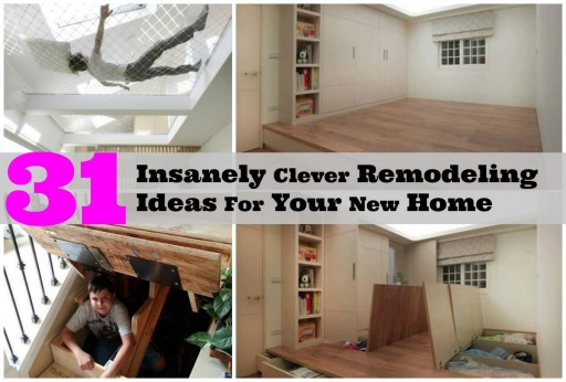 31 Insanely Clever Ideas To Remodel Your Home