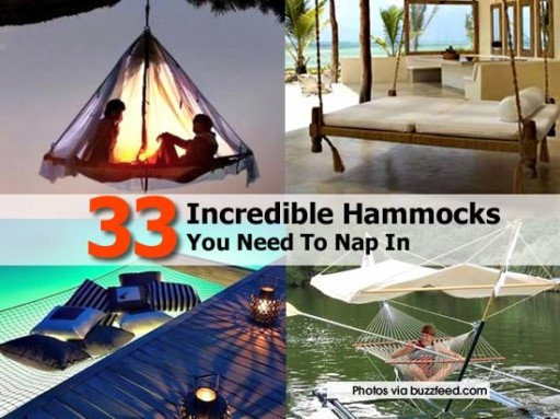 33 Incredible Hammocks You Should Nap In