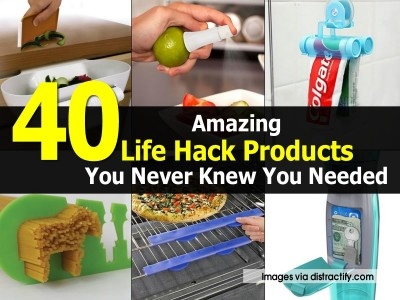 40 Amazing Life Hack Products That You Never Knew You Needed