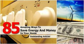 Amazing Ways To Save Energy At Home