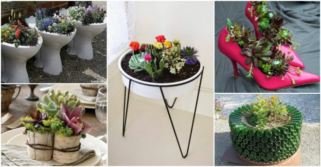 Awesome DIY Planters