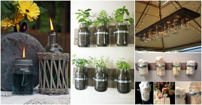 Clever Projects To Do With Mason Jars