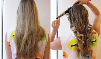 How To Curl Your Hair Easy 1