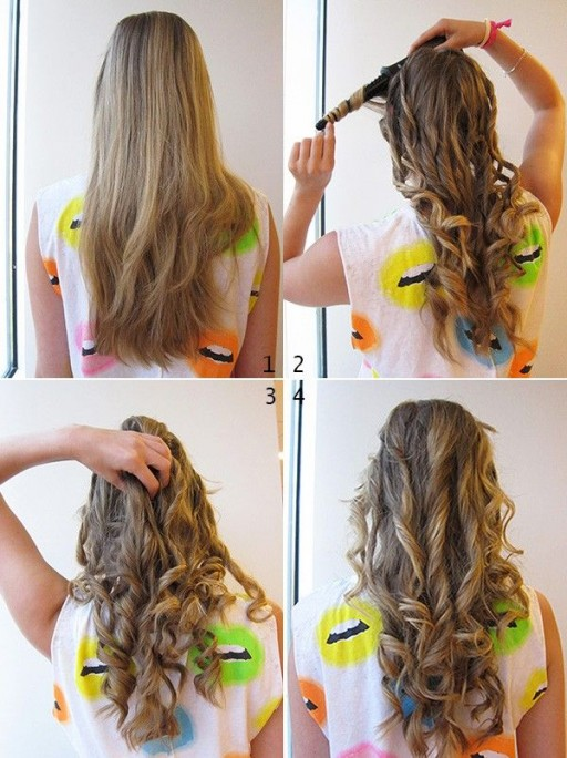 How To Curl Your Hair Easy