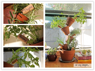 How To Make DIY Vertical Herb Garden Step By Step Tutorial Instructions