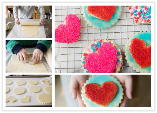 How To Make Double Heart Cookies Step By Step DIY Tutorial Instructions