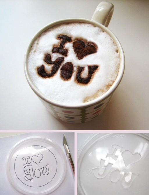 How To Make Easy DIY Coffee Stencil