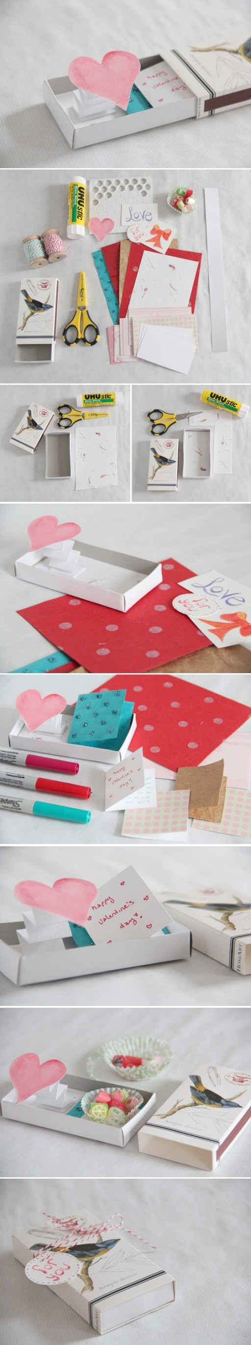 How To Make Pop Up Love Gift Box Step By Step DIY Tutorial Instructions 2