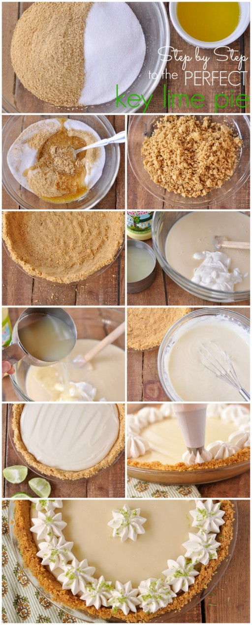 The Perfect Key Lime Pie Recipe & Step By Step DIY Tutorial Instructions 2