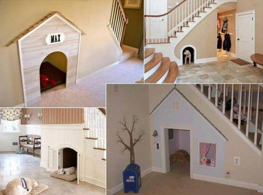 25 Cool Indoor Dog House Designs