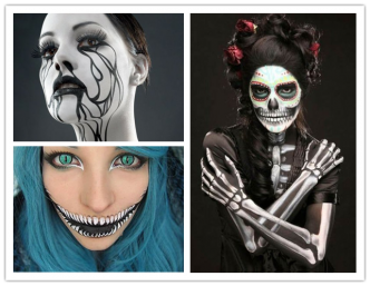 25 Super Scary Halloween Makeup Ideas For Fanshionista