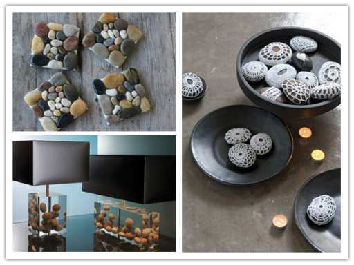 28 Ideas To Incorporate Pebbles Into Your HOme Decoration 2