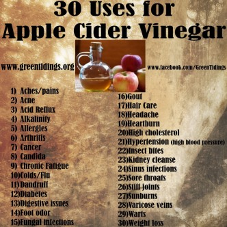 30 Unusual Uses For Apple Cider Vinegar Everyone Should Know