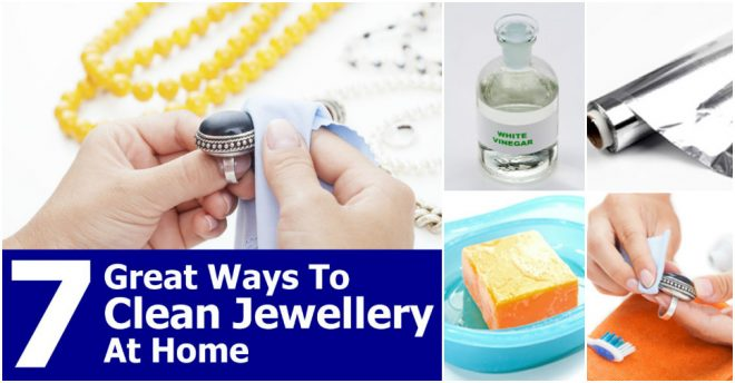 Effective Ways To Clean Jewelry At Home