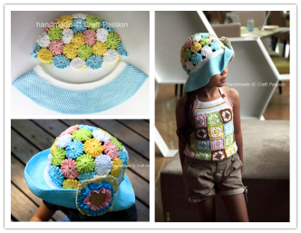 How To Crochet Floral Wide Brim Hat Free Pattern And Step By Step DIY Tutorial Instructions