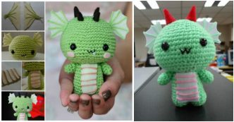 How To Make Crochet Dragon
