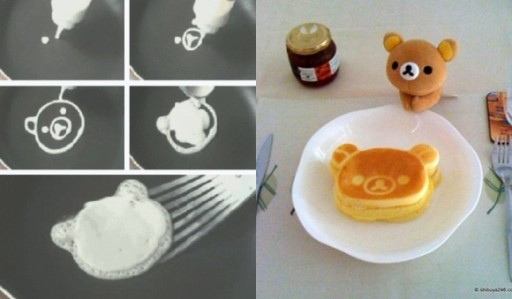 How To Make Cute Bear Pancake Step By Step DIY Tutorial Instructions 6