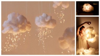 How To Make DIY Cloud Lights Step By Step Tutorial Instructions