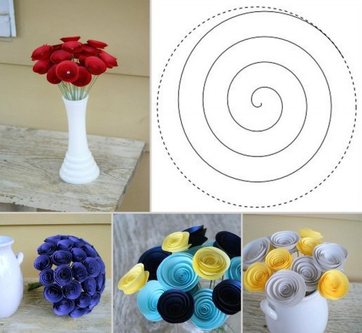 How To Make Inviting Paper Flowers Step By Step DIY Tutorial Instructions