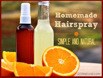 How To Make Simple And Natural Homemade Hairspray Step By Step DIY Tutorial Instructions