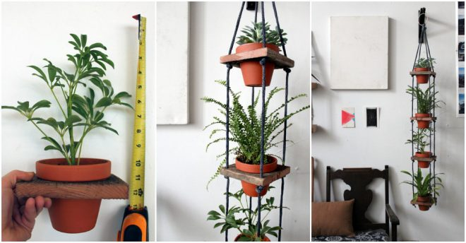 How To Make Tiered Hanging Planters