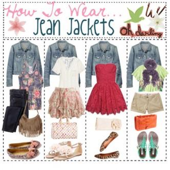 How To Wear Jean Jackets