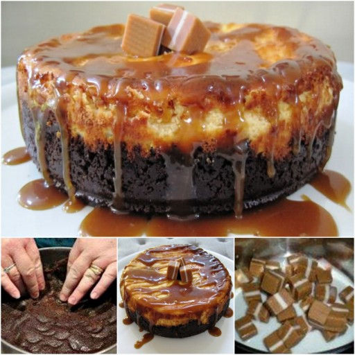 Jersey Caramel Cheesecake Recipe & Tutorial