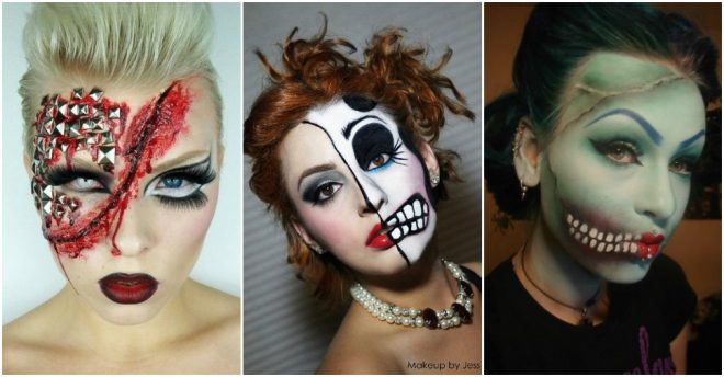 more diy ideas u003cu003c scary halloween makeup ideas
