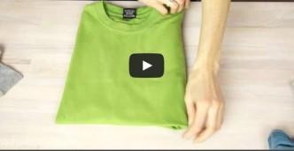 3 Ways To Fold A T-shirt Like A Pro