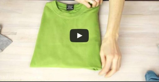 3 Ways To Fold A T-shirt Like A Pro