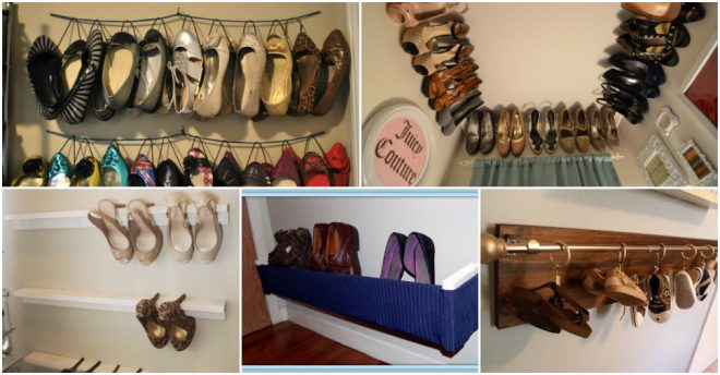 Clever Ways To Organize Shoes