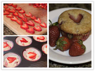 Culinary School - How To Make Delicious Strawberry Muffins