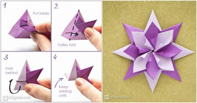 Fold DIY Origami Star
