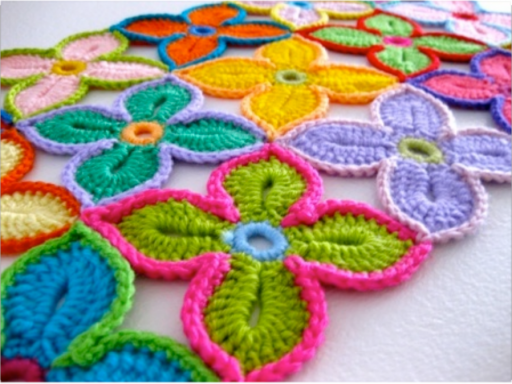 How To Crochet Pretty Flower Motif Shawl 2