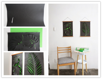 How To Make DIY Paper Wall Art 1