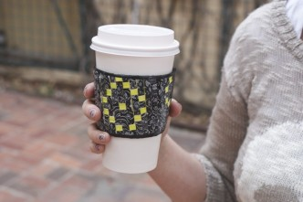 How To Make DIY Reusable Duct Tape Coffee Sleeve