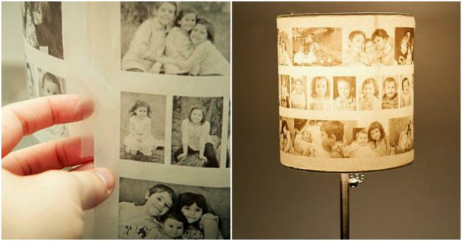 How To Make Gorgeous Photo Lamp