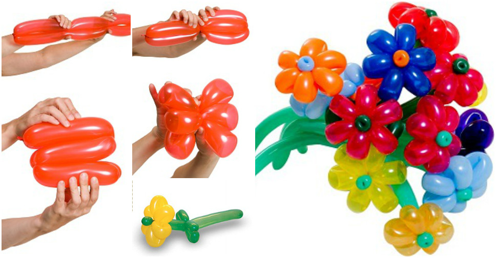 Make Balloon Flower Bouquet – How To Instructions