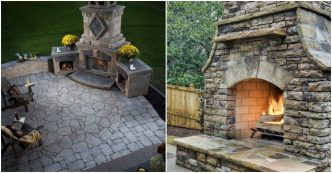 Outdoor Fireplace Designs