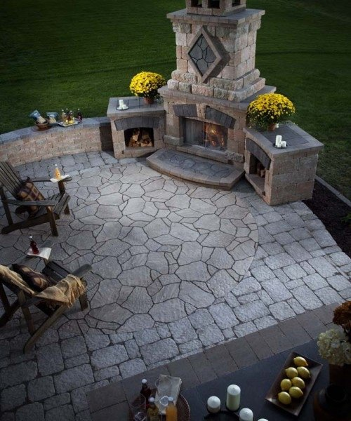Step By Step Instructions On How To Build An Outdoor Fireplace Rachael Edwards