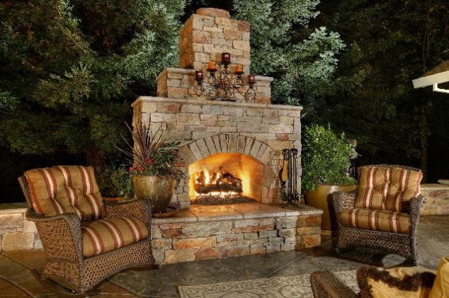 Outdoor Fireplace Designs And DIY Ideas 5