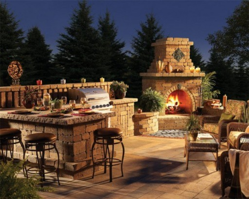 Outdoor Fireplace Designs And DIY Ideas