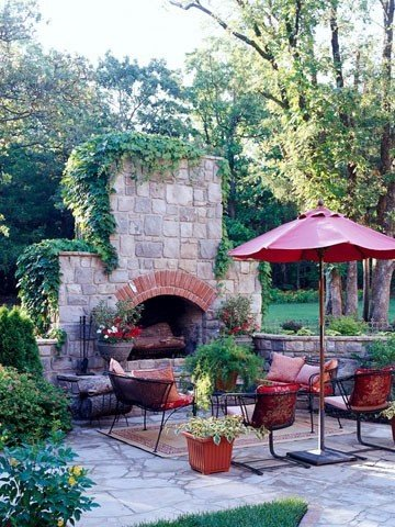 Outdoor Fireplace Designs And DIY Ideas 6