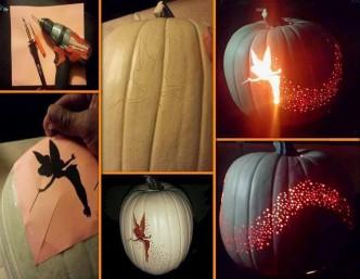 Tinker Bell Pumpkin Carving Templates