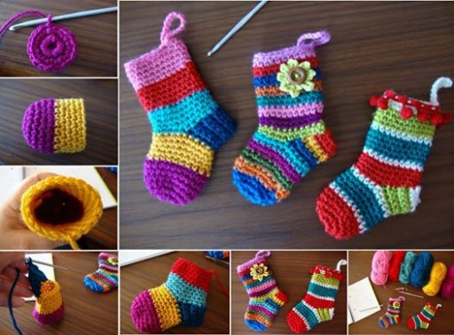 Adorable Little Socks Free Crochet Pattern