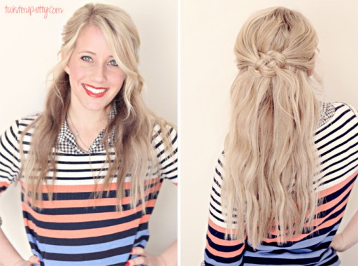 Celtic Knot   Easy Step By Step Hairstyles For Long Hair