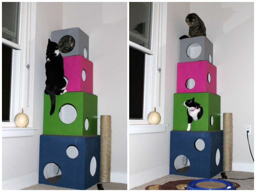 DIY Cat Tree Tutorial