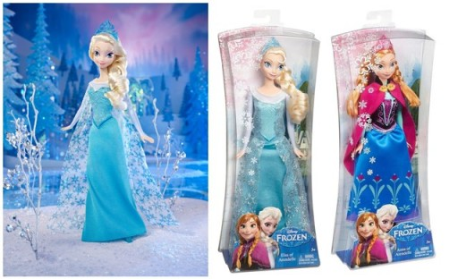 Frozen Sparkle Princess Elsa Doll